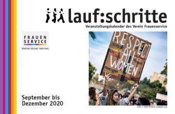 """Die """"laufschritte"""" für Herbst 2020 sind da!"""