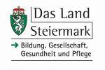 Logo Land Steiermark Bildung Gesellschaft und Gesundheit